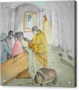 Mangia It Is Italy Album Acrylic Print