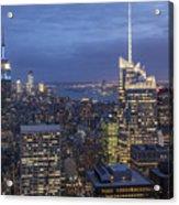 Manhattan Skyline New York Acrylic Print
