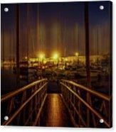 Marine At Night Acrylic Print