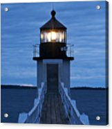 Marshall Point Light Acrylic Print