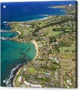 Maui Aerial Of Kapalua Acrylic Print