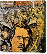 Maxim Gorki (1868-1936) Acrylic Print