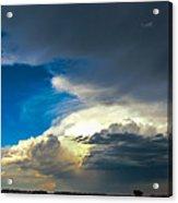 May Nebraska Storm Cells Acrylic Print