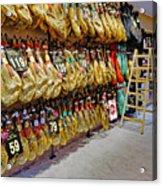 Meat Market In Palma Majorca Spain Acrylic Print