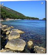 Mediterranean Seascape  Acrylic Print