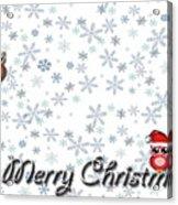 Christmas Card 8 Acrylic Print