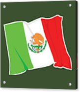 Mexico Flag Acrylic Print
