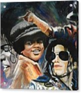 Micheal Jackson Acrylic Print