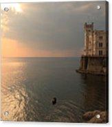 Miramare Sunset Acrylic Print