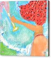 Miss Boobiair Acrylic Print