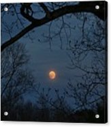 Misty Moonrise Acrylic Print