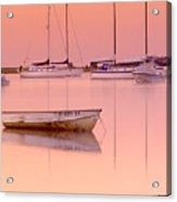 Misty Morning Osterville Cape Cod Acrylic Print