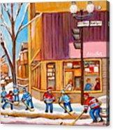 Montreal Paintings Acrylic Print