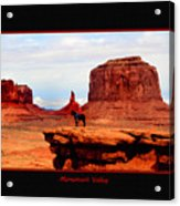 Monument Valley II Acrylic Print