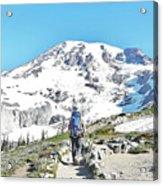 Mount Rainier National Park Acrylic Print