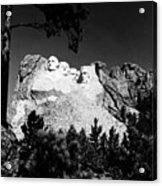 Mount Rushmore Acrylic Print by Granger