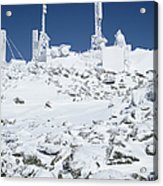 Mount Washington State Park - White Mountains New Hampshire Usa Acrylic Print