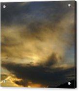 Mussoorie sunset 3 Acrylic Print