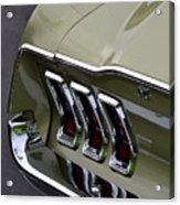 Mustang Fastback Acrylic Print