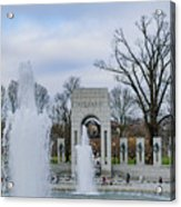 National World War II Memorial Acrylic Print