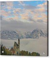Neuschwanstein Castle Landscape Acrylic Print