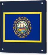 New Hampshire Flag Acrylic Print