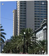 New Orleans Cable Car Acrylic Print