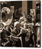 New Orleans Jazz Funeral Acrylic Print