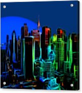 New York Colors Acrylic Print
