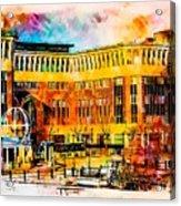 Newcastle Quayside Acrylic Print