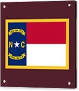 North Carolina Flag. Acrylic Print