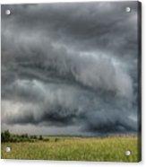 North Dakota Thunderstorm Acrylic Print