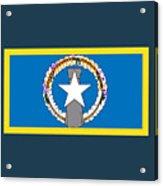 Northern Marianas Flag Acrylic Print