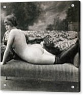 Nude Posing, C1900 Acrylic Print