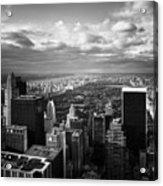 Nyc Central Park Acrylic Print by Nina Papiorek