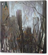 Nyc Central Park Acrylic Print by Ylli Haruni