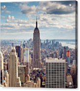 NYC Empire Acrylic Print
