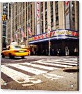 Nyc Radio City Music Hall Acrylic Print