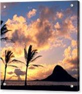 Oahu, Mokolii Island Acrylic Print
