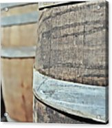 Oak Wine Barrel Acrylic Print