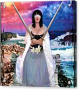 2 Of Swords Acrylic Print