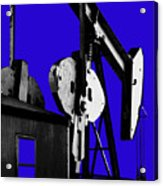 Oil Well Pump #3 Acrylic Print