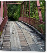 Old Alton Bridge  Acrylic Print
