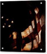 Old Glory Acrylic Print