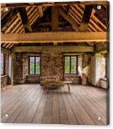 Old House Interior Acrylic Print