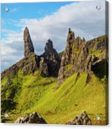 Old Man Of Storr, Isle Of Skye, Scotland Acrylic Print