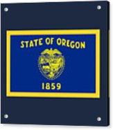 Oregon Flag Acrylic Print