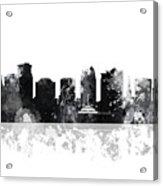 Orlando Florida Skyline Acrylic Print