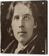 Oscar Wilde 1 Acrylic Print