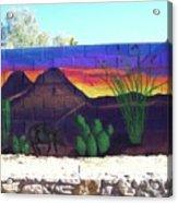 Outside Mural Acrylic Print